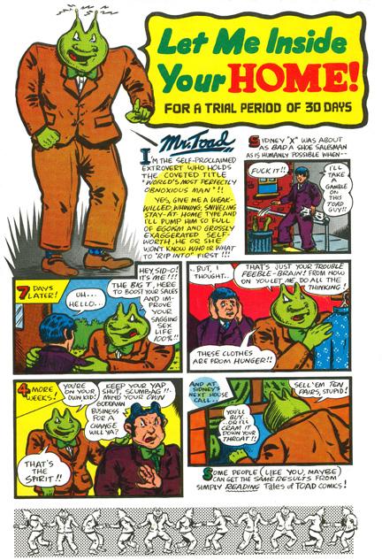 Comic pinhead strip apologise, but
